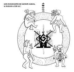 los cuatro danzantes del monte alban Factor maya image062