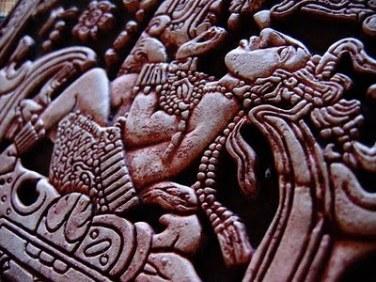 pacal votan detalle relieve sarcofago
