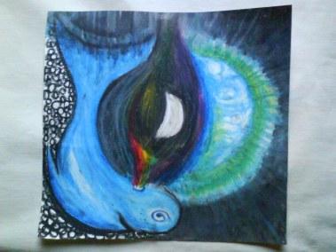 Ballena Telecosmica del Arco Iris