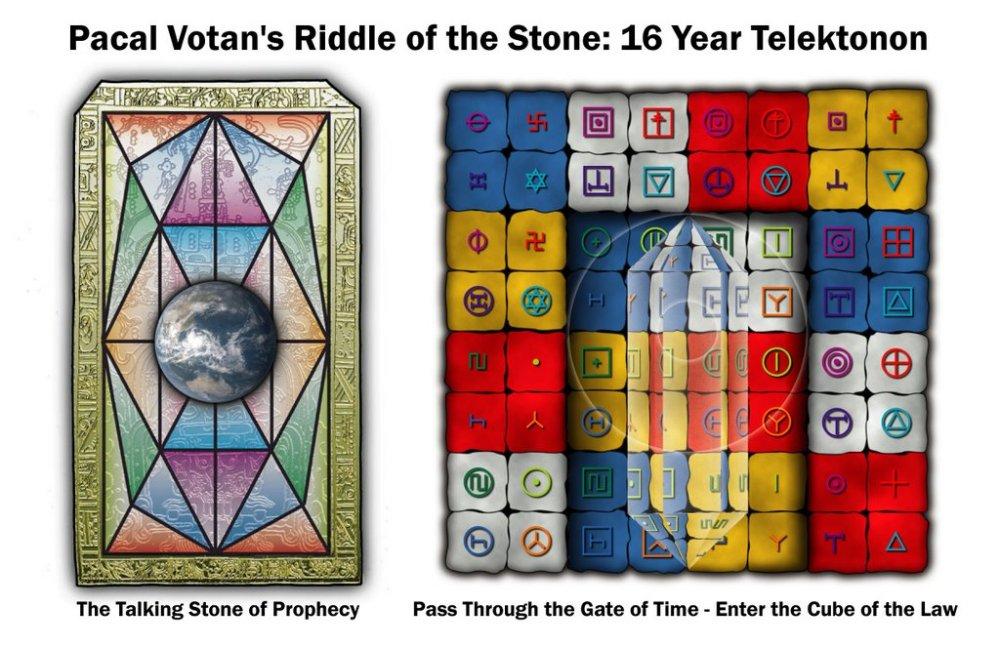 Portal Dimensional de la tierra cristal