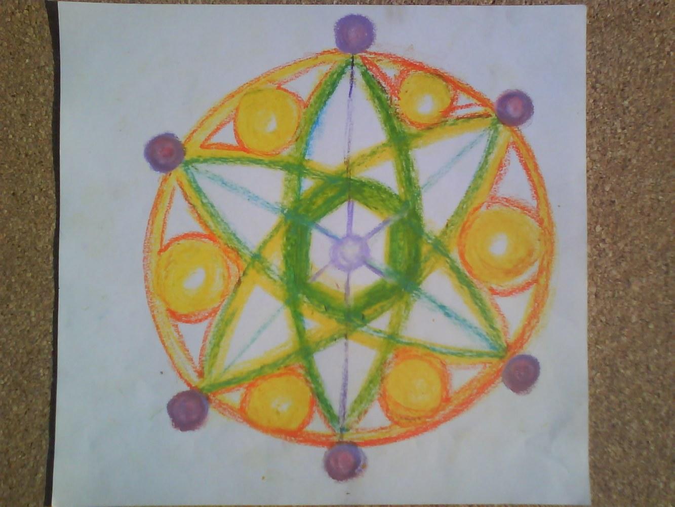 Nucleo Cristal y campos energeticos de la tierra equilibrandose