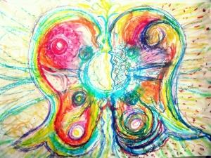 mariposa, capuyo de transformacion mental imaginario