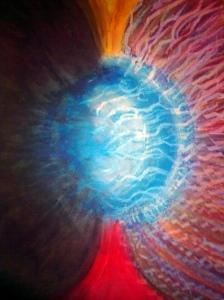 Cuerpo energético de la tierra, Cromática roja, purificación de la profecía
