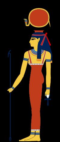 símbolo de los hathor indicando la glándula pineal