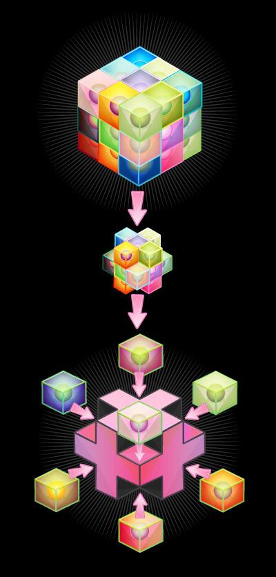 el cubo de la ley del tiempo crop circle