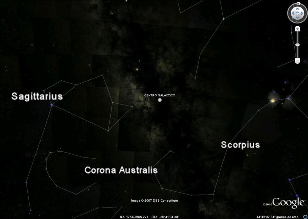 centro galaxia evento sagitario A