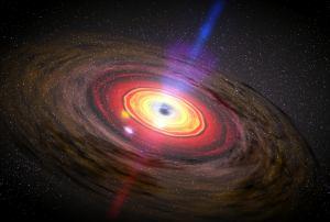 centro galactico super agujero negro