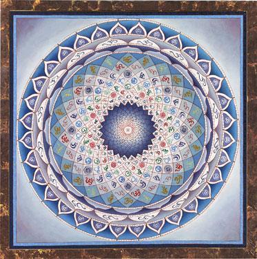 Om Mandala Vibración Sonido Primero del Universo