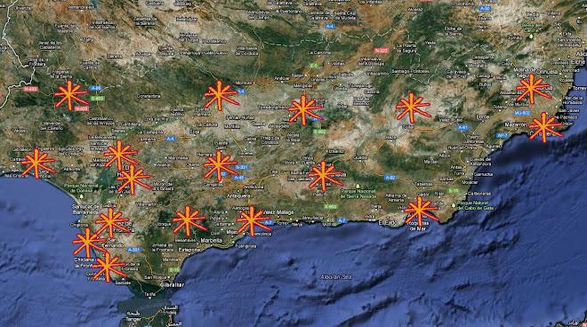 MAPA : Asambleas del Sur
