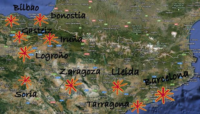 : MAPA : Asambleas del Nor- Este