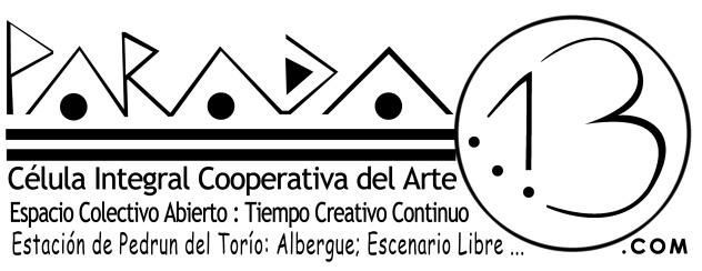 Parada 13 logo tipografia definicion-com-1