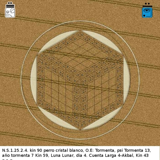 Crop Circle 26 agosto 2012 Hackpen Hill Nr Broad Hinton Wiltshire UK