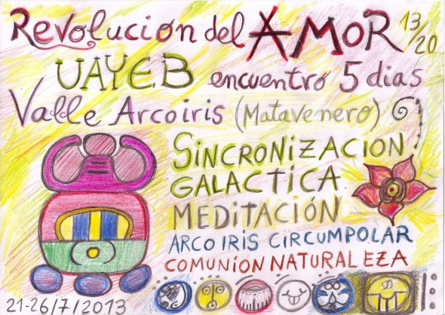 cartel revolucion del amor - uayeb 2013 matavenero