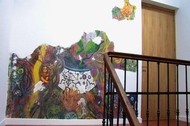 mural enteogeno despues de las obras
