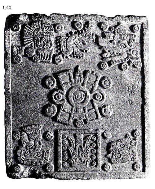 tolteca imagen sello azteka ollin : 1.40